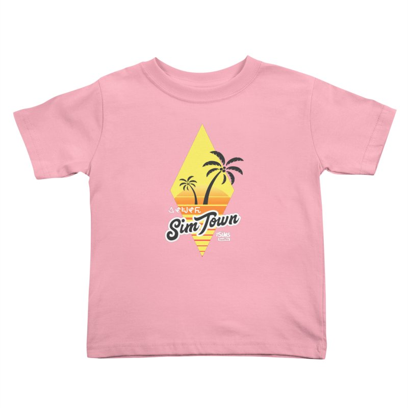 SimTown Tropical Kids Toddler T-Shirt by The Sims Official Threadless Store