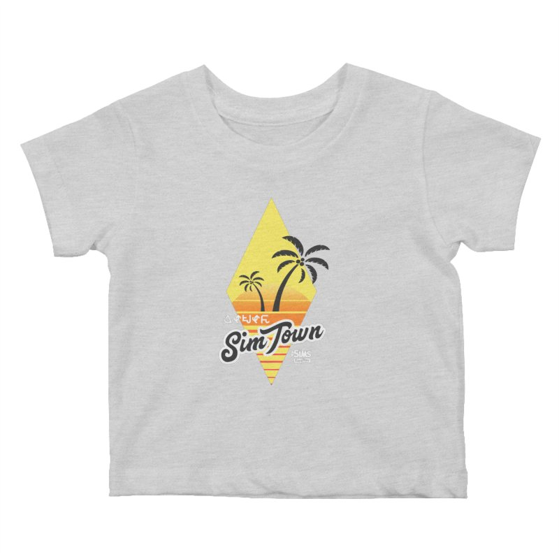 SimTown Tropical Kids Baby T-Shirt by The Sims Official Threadless Store