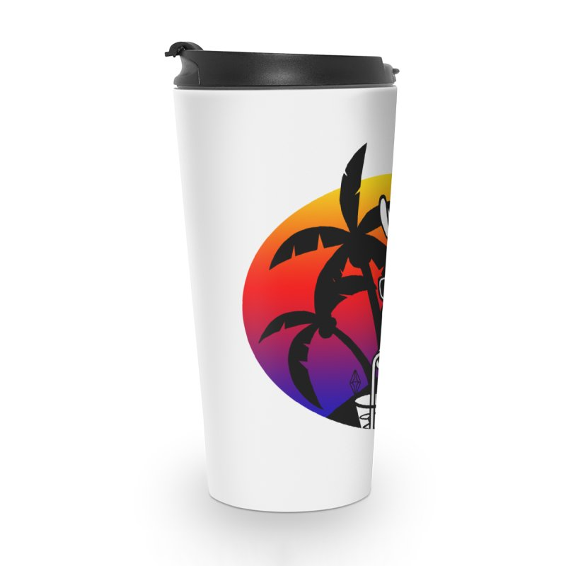 Tropi-Llama Accessories Travel Mug by The Sims Official Threadless Store