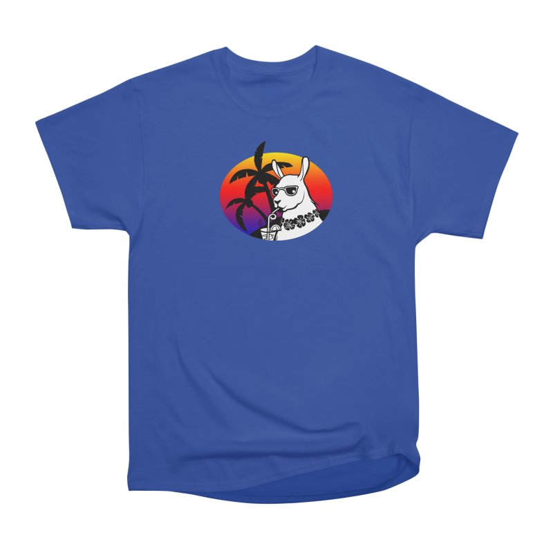 Tropi-Llama Women's Heavyweight Unisex T-Shirt by The Sims Official Threadless Store