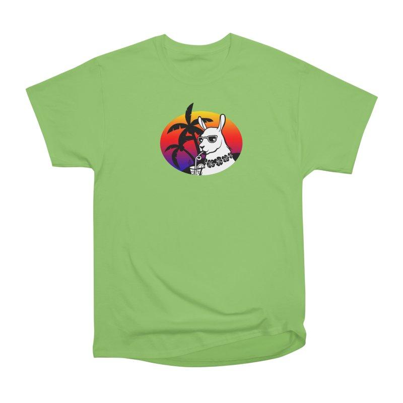 Tropi-Llama Men's Heavyweight T-Shirt by The Sims Official Threadless Store