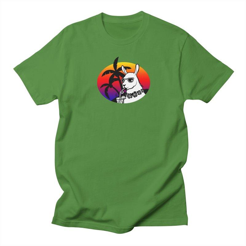 Tropi-Llama Women's Regular Unisex T-Shirt by The Sims Official Threadless Store
