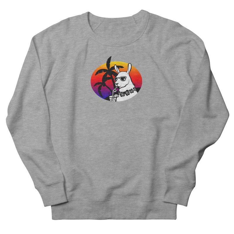 Tropi-Llama Women's French Terry Sweatshirt by The Sims Official Threadless Store