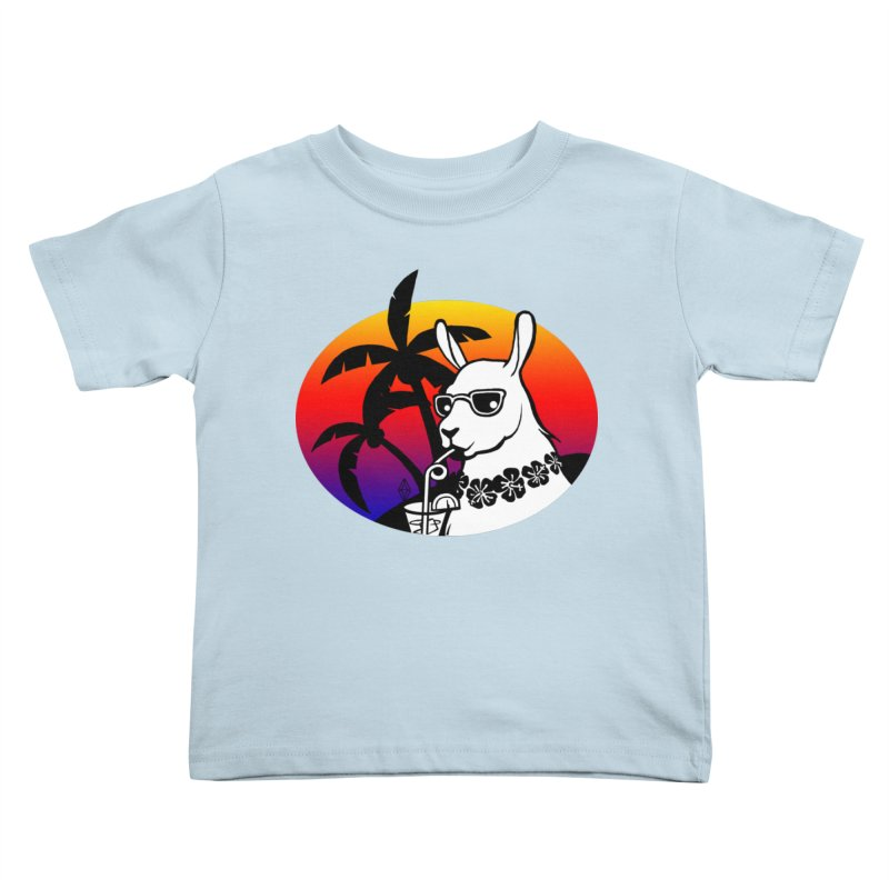 Tropi-Llama Kids Toddler T-Shirt by The Sims Official Threadless Store