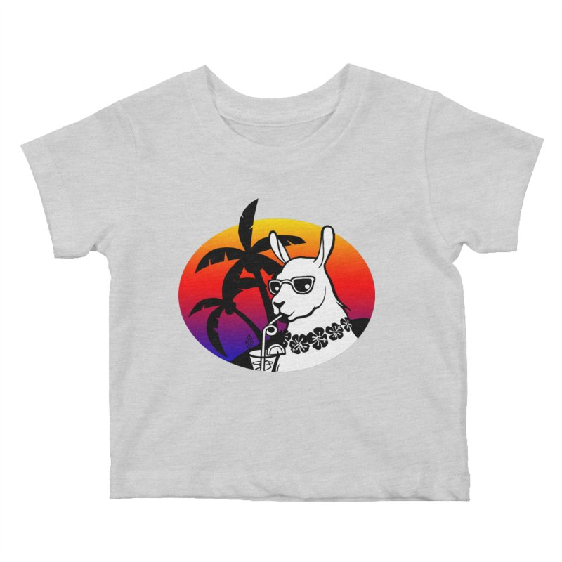 Tropi-Llama Kids Baby T-Shirt by The Sims Official Threadless Store