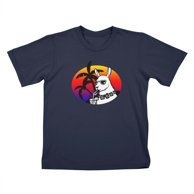 Tropi-Llama Kids T-Shirt by The Sims Official Threadless Store