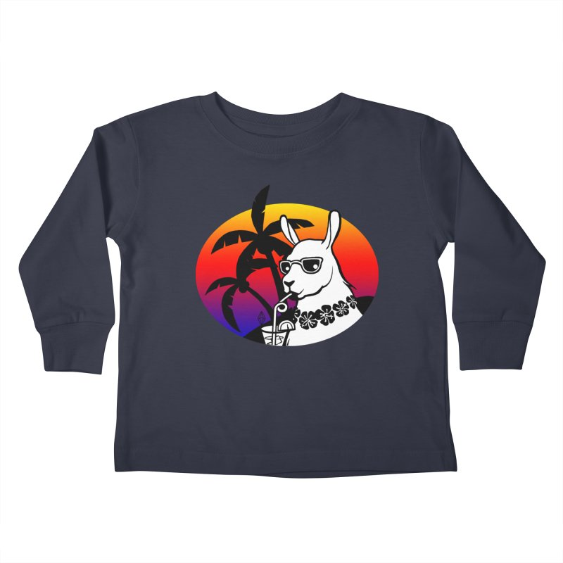 Tropi-Llama Kids Toddler Longsleeve T-Shirt by The Sims Official Threadless Store