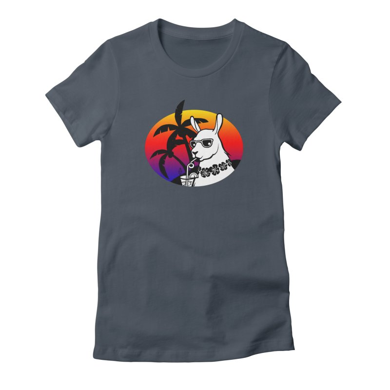 Tropi-Llama Women's T-Shirt by The Sims Official Threadless Store