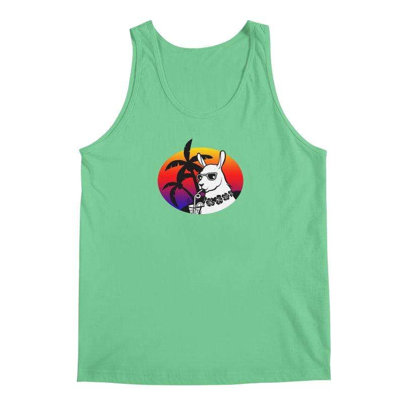 Tropi-Llama Men's Regular Tank by The Sims Official Threadless Store