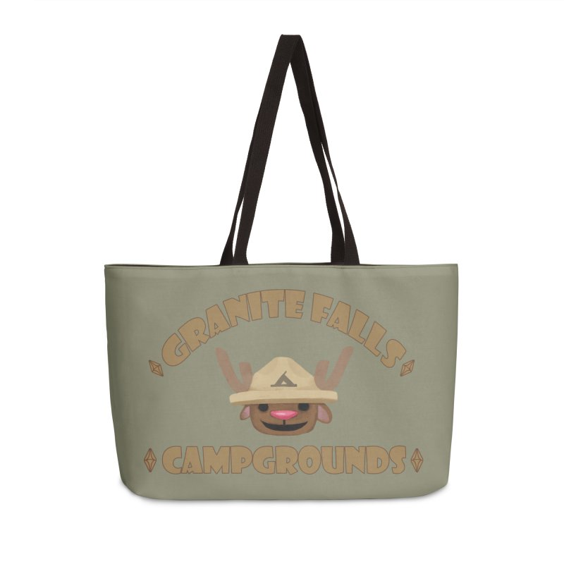 Welcome to Granite Falls! Accessories Weekender Bag Bag by The Sims Official Threadless Store