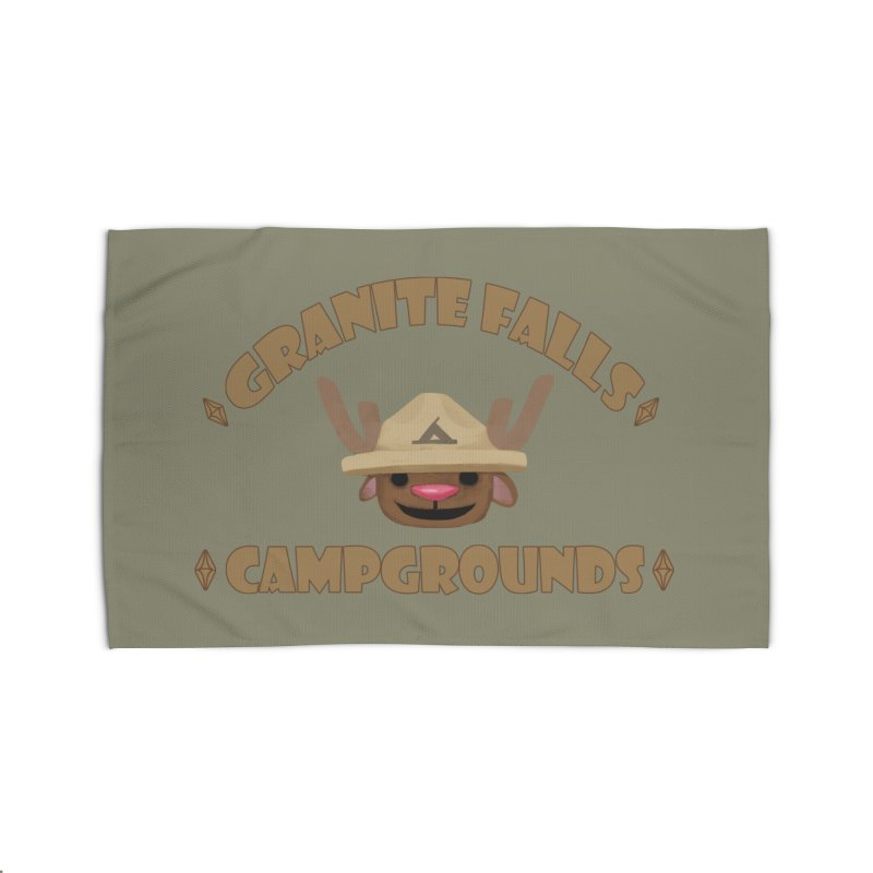 Welcome to Granite Falls! Home Rug by The Sims Official Threadless Store
