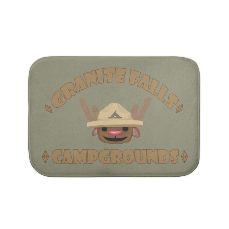 Welcome to Granite Falls! Home Bath Mat by The Sims Official Threadless Store