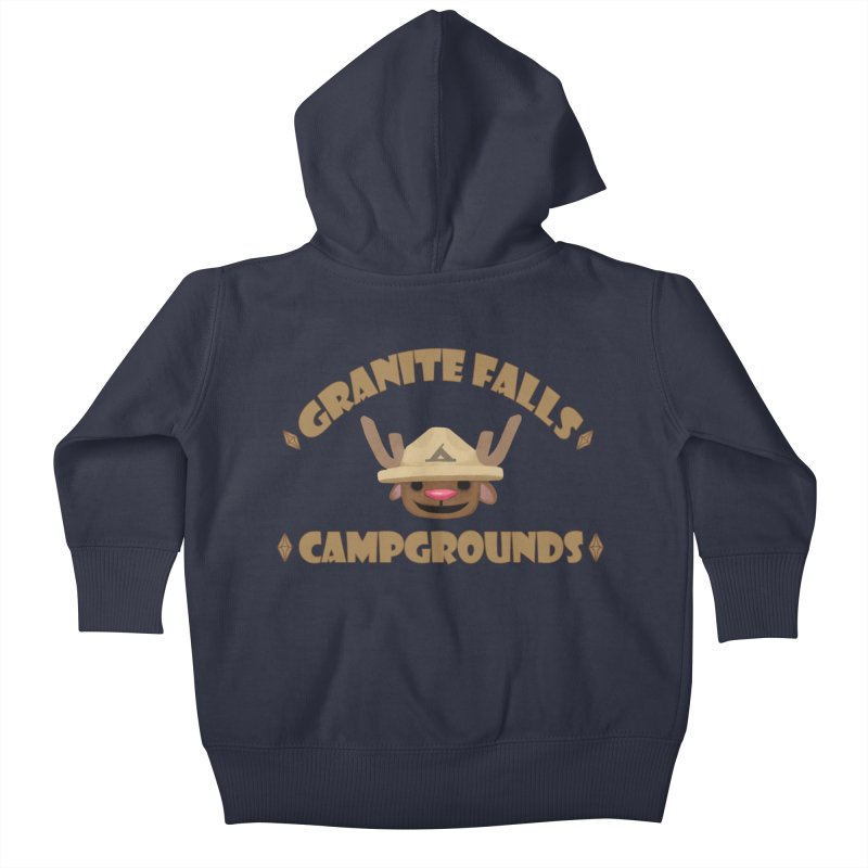 Welcome to Granite Falls! Kids Baby Zip-Up Hoody by The Sims Official Threadless Store