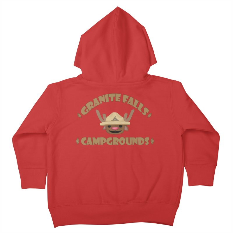 Welcome to Granite Falls! Kids Toddler Zip-Up Hoody by The Sims Official Threadless Store