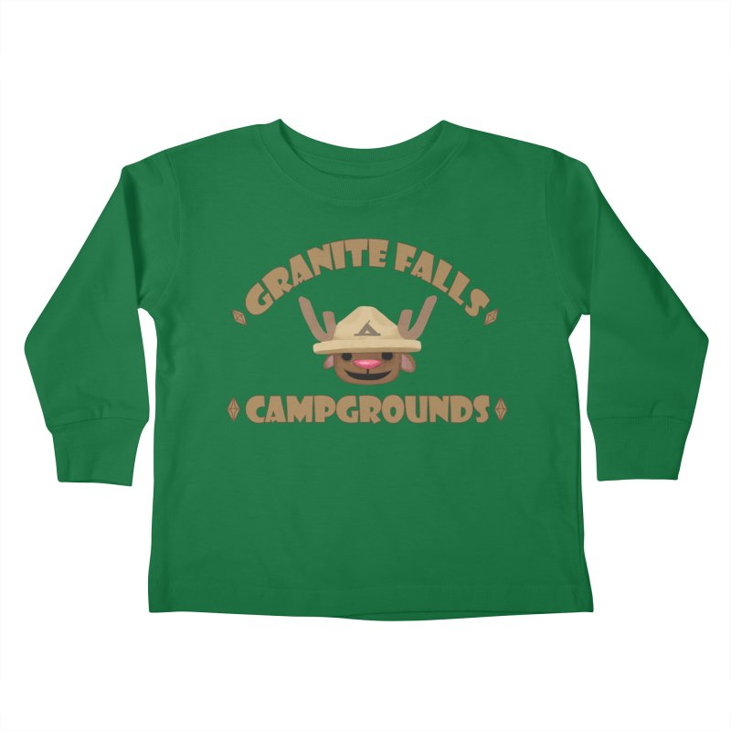 Welcome to Granite Falls! Kids Toddler Longsleeve T-Shirt by The Sims Official Threadless Store