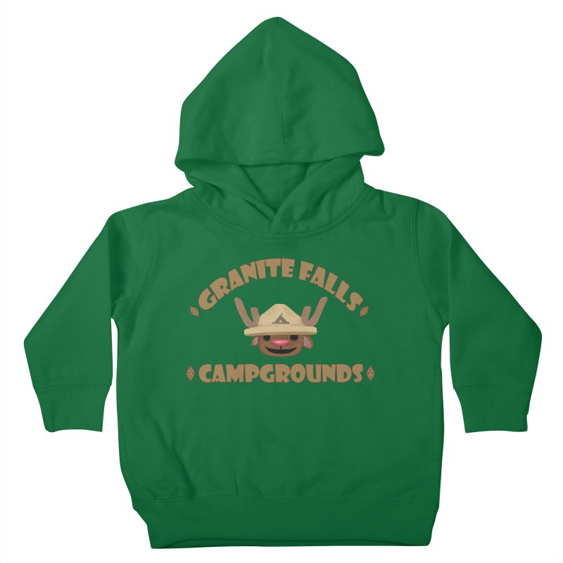 Welcome to Granite Falls! Kids Toddler Pullover Hoody by The Sims Official Threadless Store