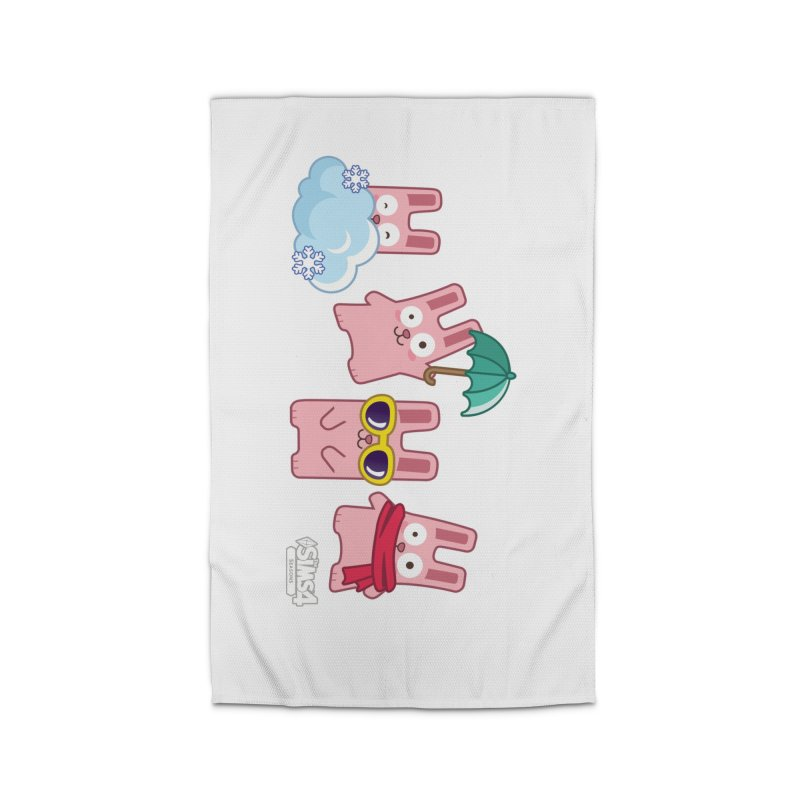 Forecast Bunnies Home Rug by The Sims Official Threadless Store