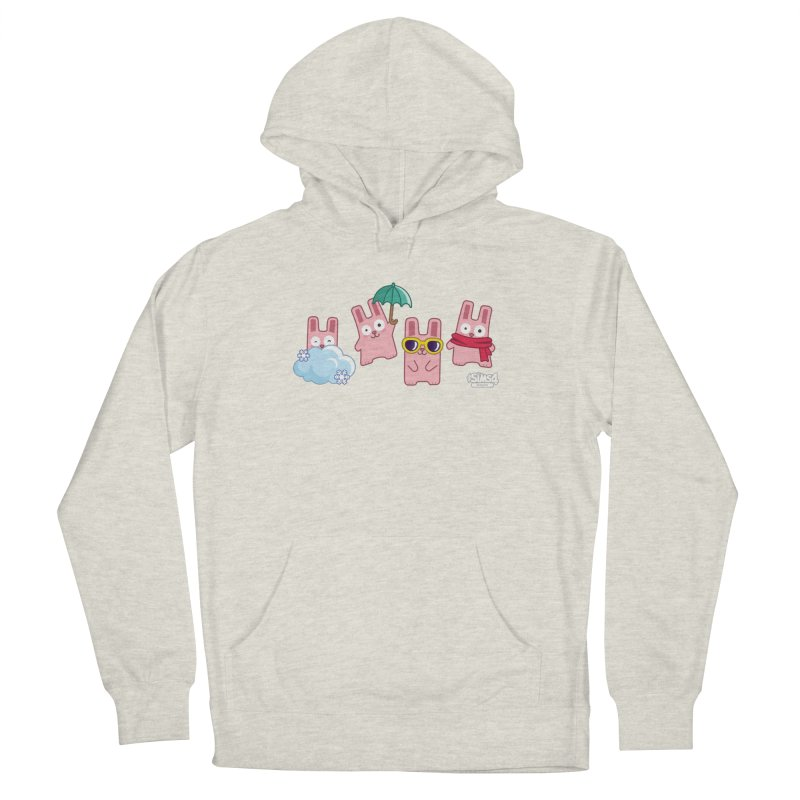 Forecast Bunnies Men's French Terry Pullover Hoody by The Sims Official Threadless Store