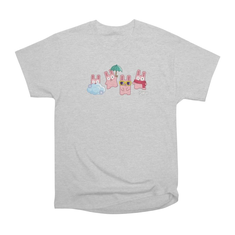 Forecast Bunnies Men's Heavyweight T-Shirt by The Sims Official Threadless Store