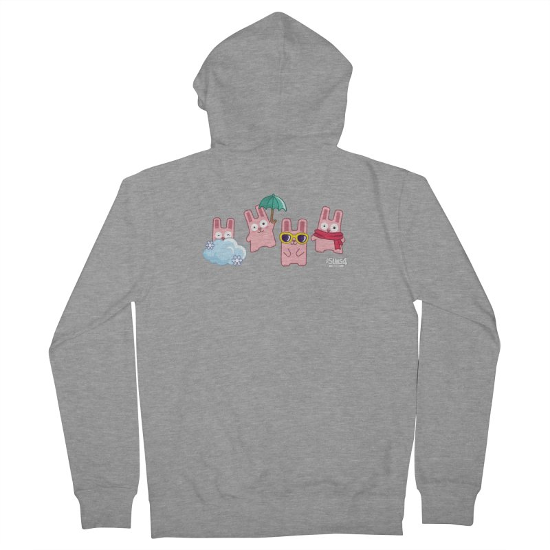 Forecast Bunnies Women's French Terry Zip-Up Hoody by The Sims Official Threadless Store