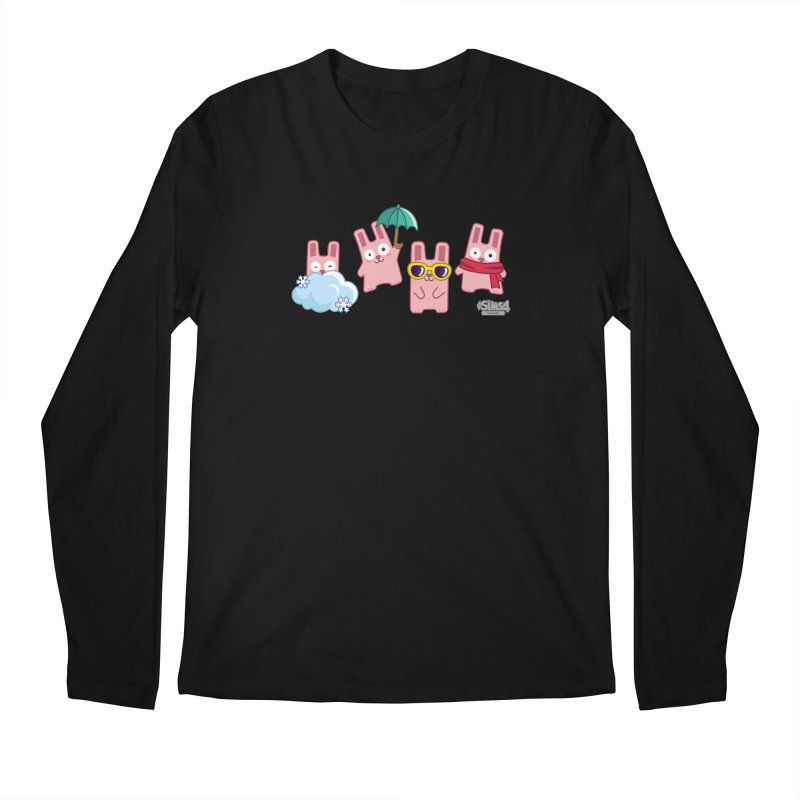 Forecast Bunnies Men's Regular Longsleeve T-Shirt by The Sims Official Threadless Store