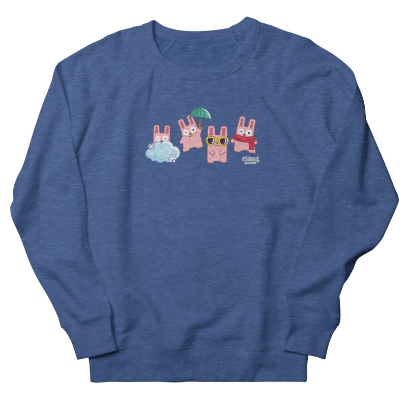 Forecast Bunnies Men's French Terry Sweatshirt by The Sims Official Threadless Store