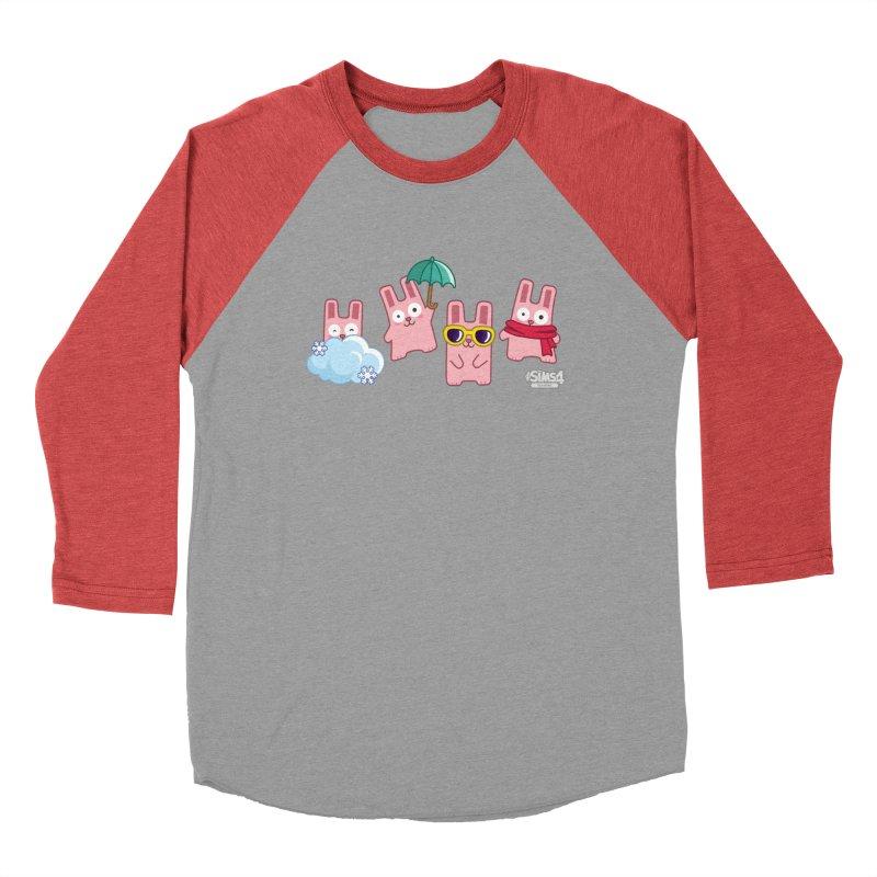 Forecast Bunnies Women's Baseball Triblend Longsleeve T-Shirt by The Sims Official Threadless Store