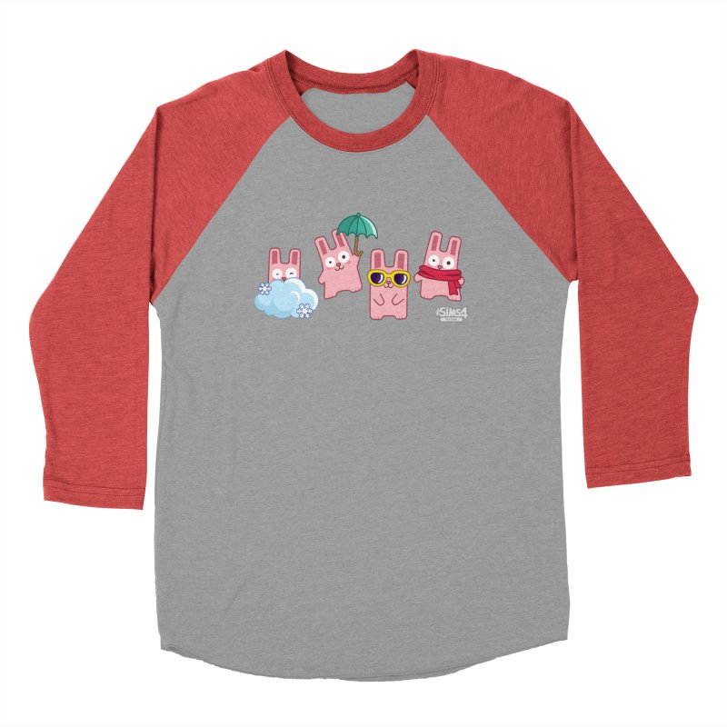 Forecast Bunnies Men's Baseball Triblend T-Shirt by The Sims Official Threadless Store