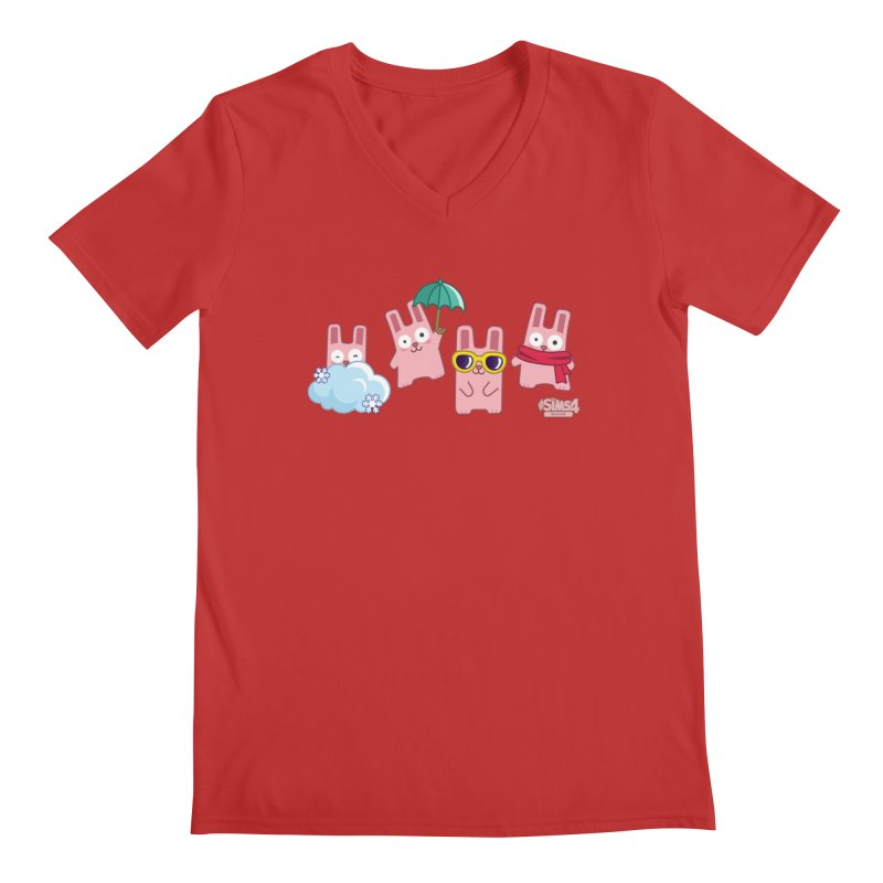 Forecast Bunnies Men's V-Neck by The Sims Official Threadless Store