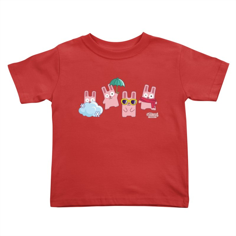 Forecast Bunnies Kids Toddler T-Shirt by The Sims Official Threadless Store