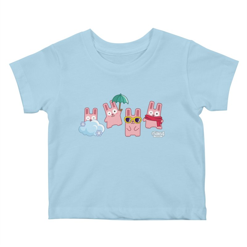 Forecast Bunnies Kids Baby T-Shirt by The Sims Official Threadless Store