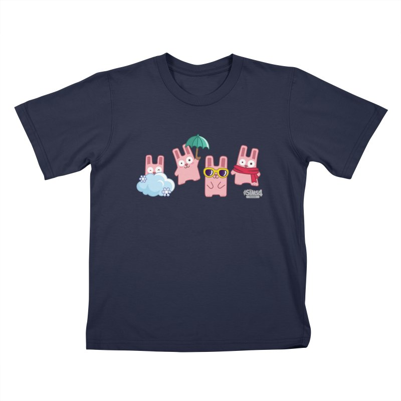 Forecast Bunnies Kids T-Shirt by The Sims Official Threadless Store