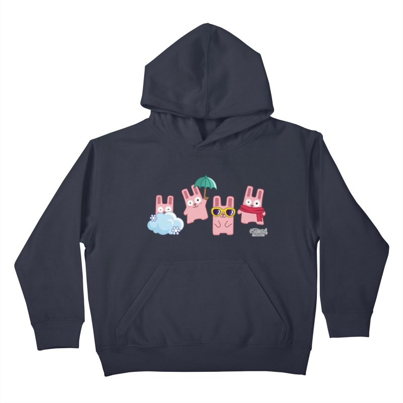 Forecast Bunnies Kids Pullover Hoody by The Sims Official Threadless Store