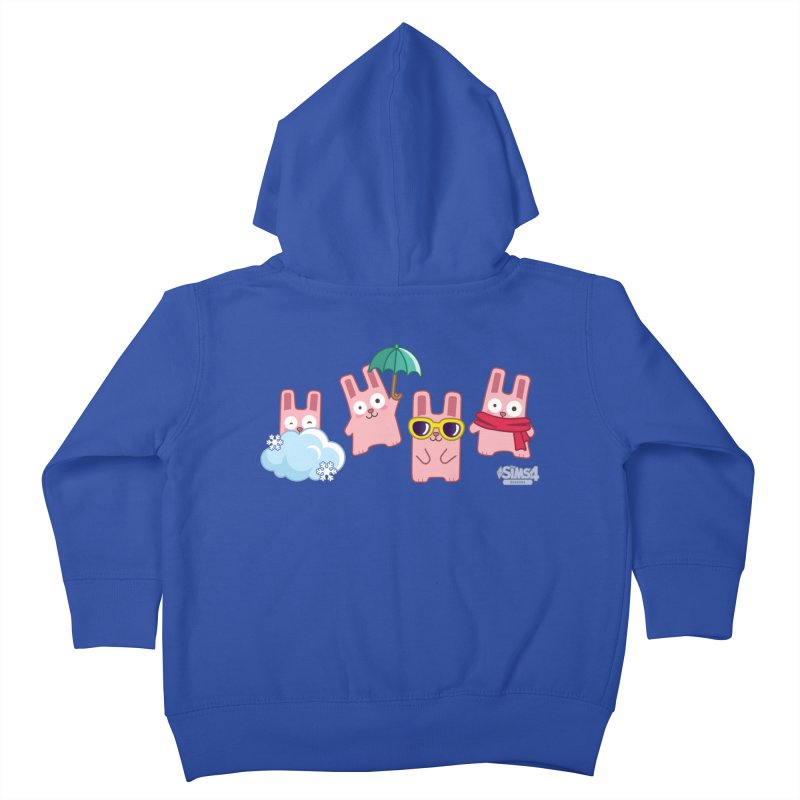 Forecast Bunnies Kids Toddler Zip-Up Hoody by The Sims Official Threadless Store