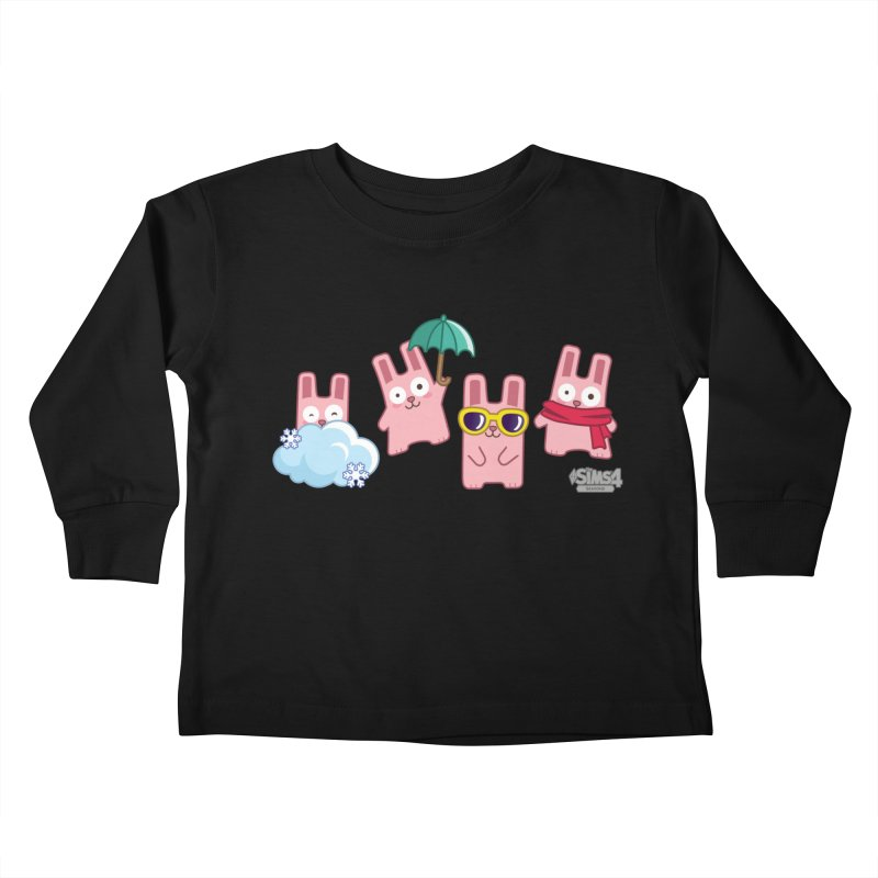 Forecast Bunnies Kids Toddler Longsleeve T-Shirt by The Sims Official Threadless Store