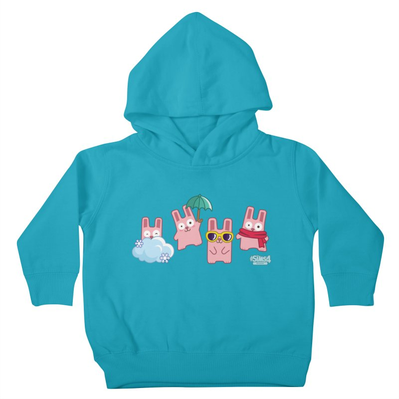 Forecast Bunnies Kids Toddler Pullover Hoody by The Sims Official Threadless Store