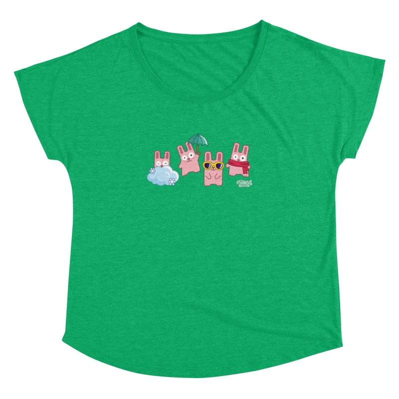Forecast Bunnies Women's Dolman Scoop Neck by The Sims Official Threadless Store