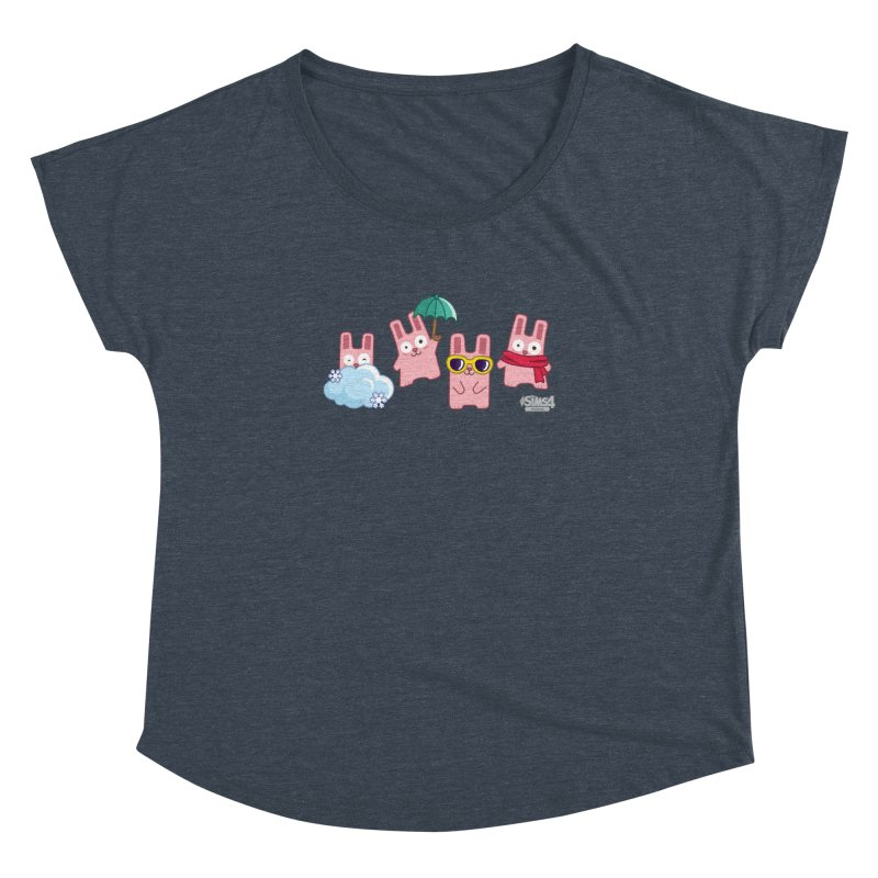 Forecast Bunnies Women's Dolman by The Sims Official Threadless Store