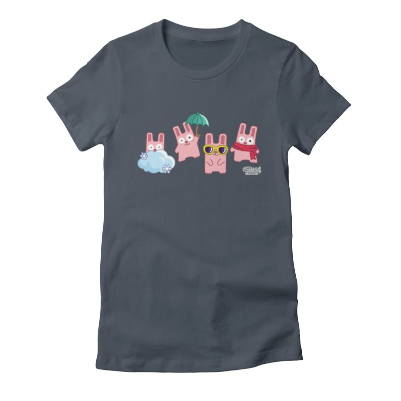 Forecast Bunnies Women's T-Shirt by The Sims Official Threadless Store