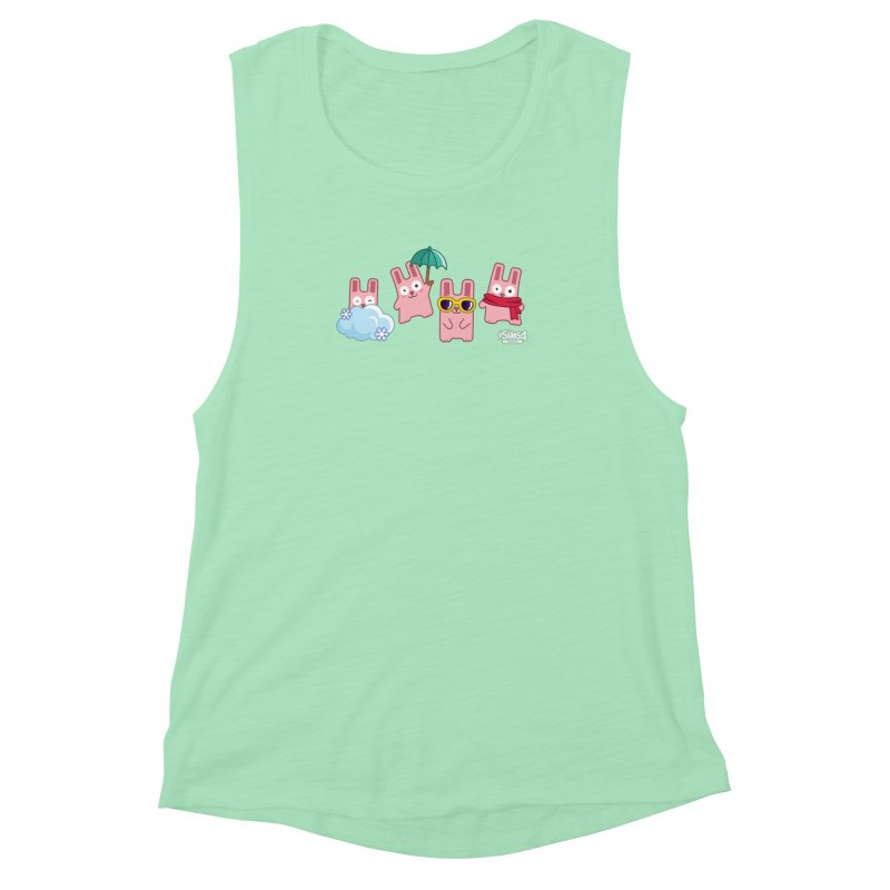 Forecast Bunnies Women's Muscle Tank by The Sims Official Threadless Store
