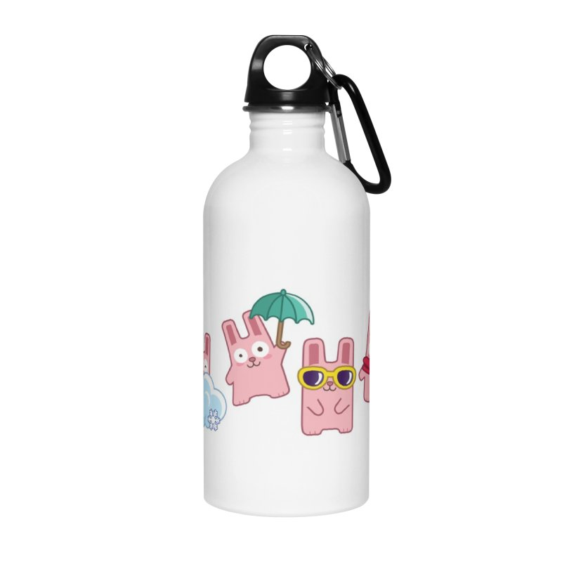 Forecast Bunnies Accessories Water Bottle by The Sims Official Threadless Store