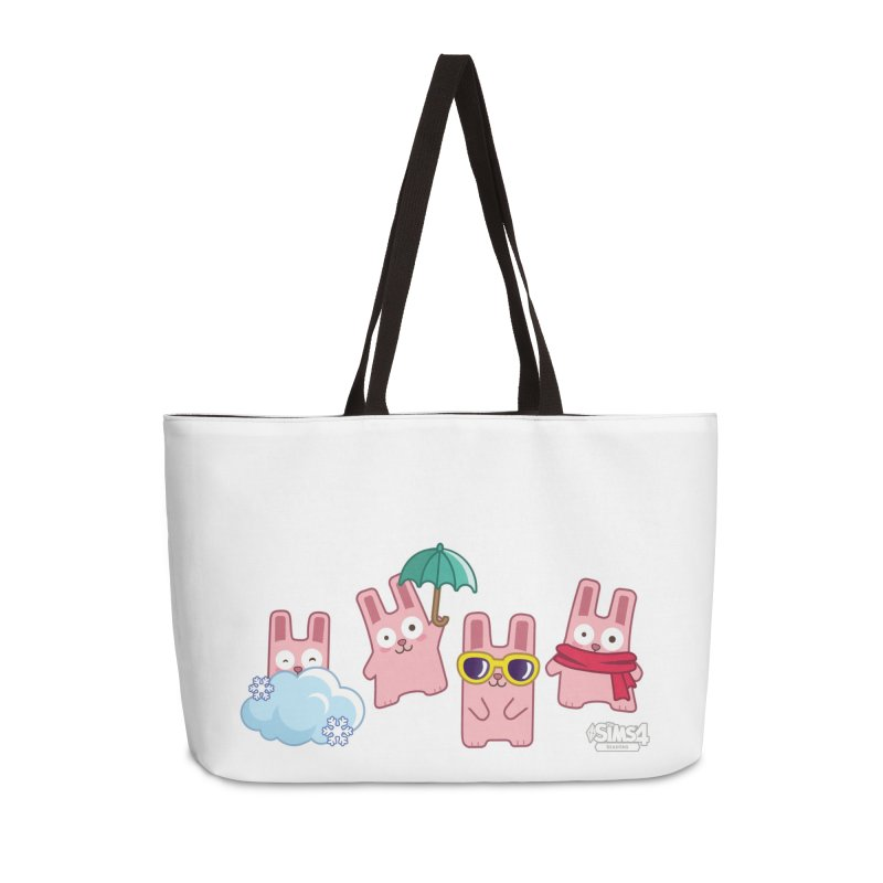 Forecast Bunnies Accessories Weekender Bag Bag by The Sims Official Threadless Store