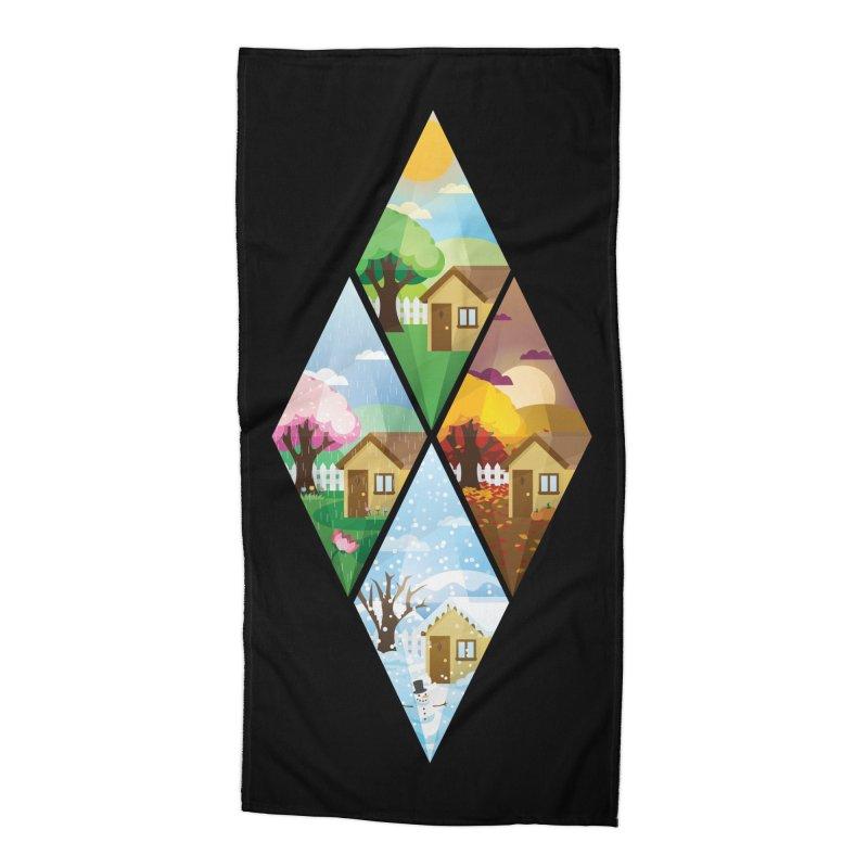 The Sims 4 Seasons - Seasonal-bob Accessories Beach Towel by The Sims Official Threadless Store