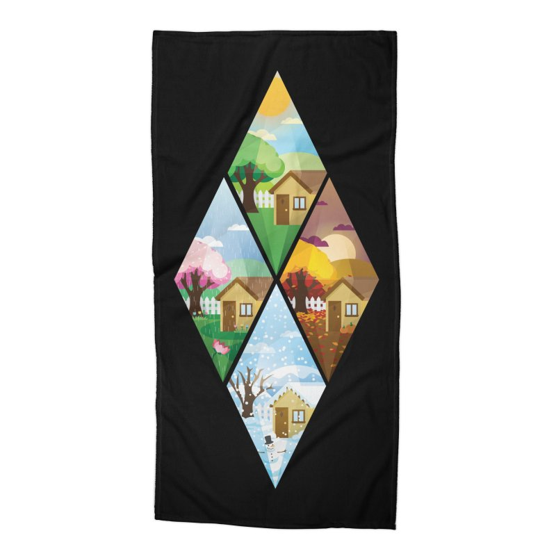 The Sims 4 Seasons - Seasonal-bob Accessories Beach Towel by The Sims Official Threadless Store
