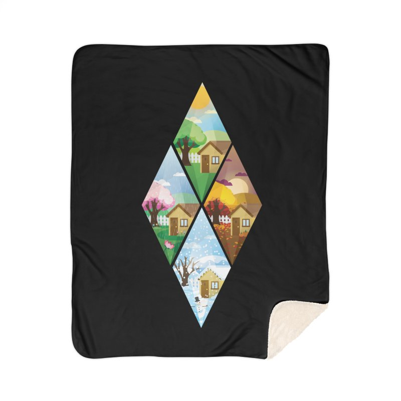 The Sims 4 Seasons - Seasonal-bob Home Sherpa Blanket Blanket by The Sims Official Threadless Store