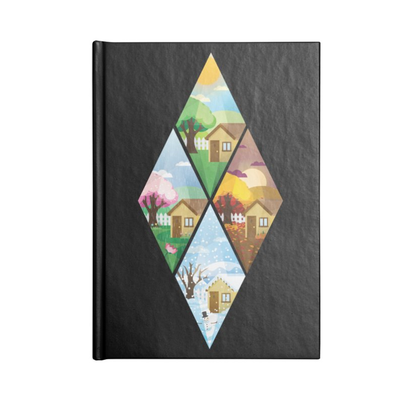 The Sims 4 Seasons - Seasonal-bob Accessories Notebook by The Sims Official Threadless Store