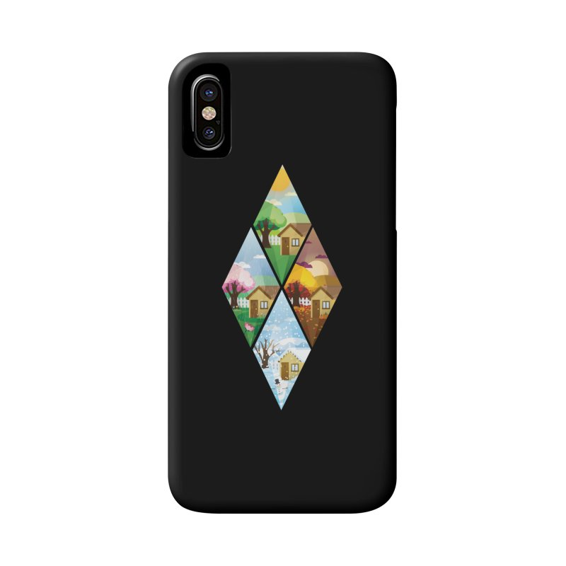 The Sims 4 Seasons - Seasonal-bob Accessories Phone Case by The Sims Official Threadless Store