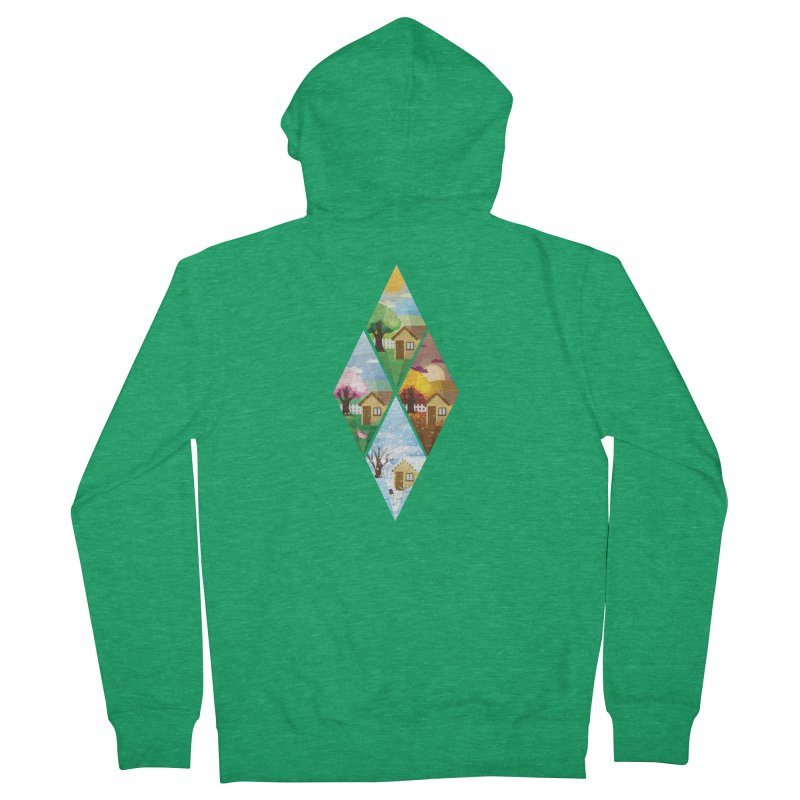 The Sims 4 Seasons - Seasonal-bob Men's Zip-Up Hoody by The Sims Official Threadless Store