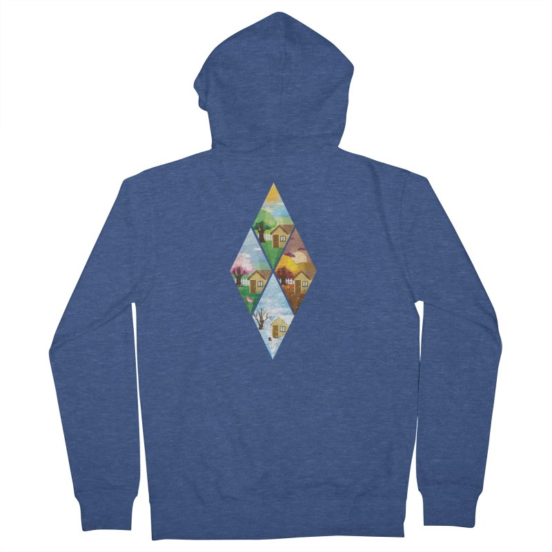 The Sims 4 Seasons - Seasonal-bob Men's French Terry Zip-Up Hoody by The Sims Official Threadless Store
