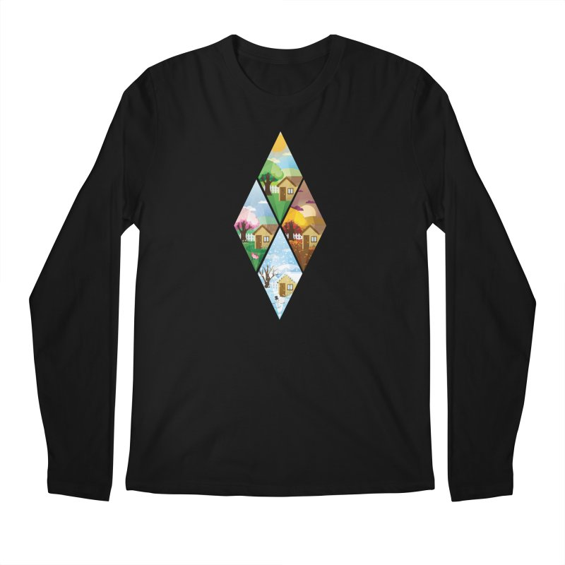 The Sims 4 Seasons - Seasonal-bob Men's Regular Longsleeve T-Shirt by The Sims Official Threadless Store